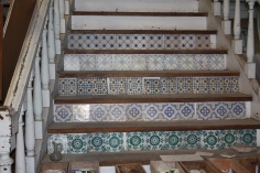 Antique Portuguese Tiles on Stair